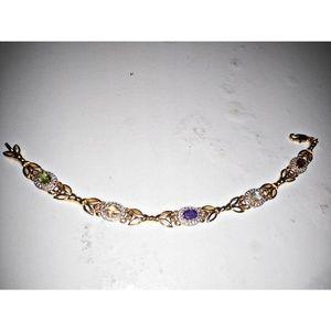 Jewelry - VINTAGE BIRTHSTONE BRACELET